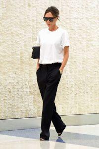 Áo trắng dễ biến tấu với nhiều trang phục và phong cách. (Ảnh: Pinimg)